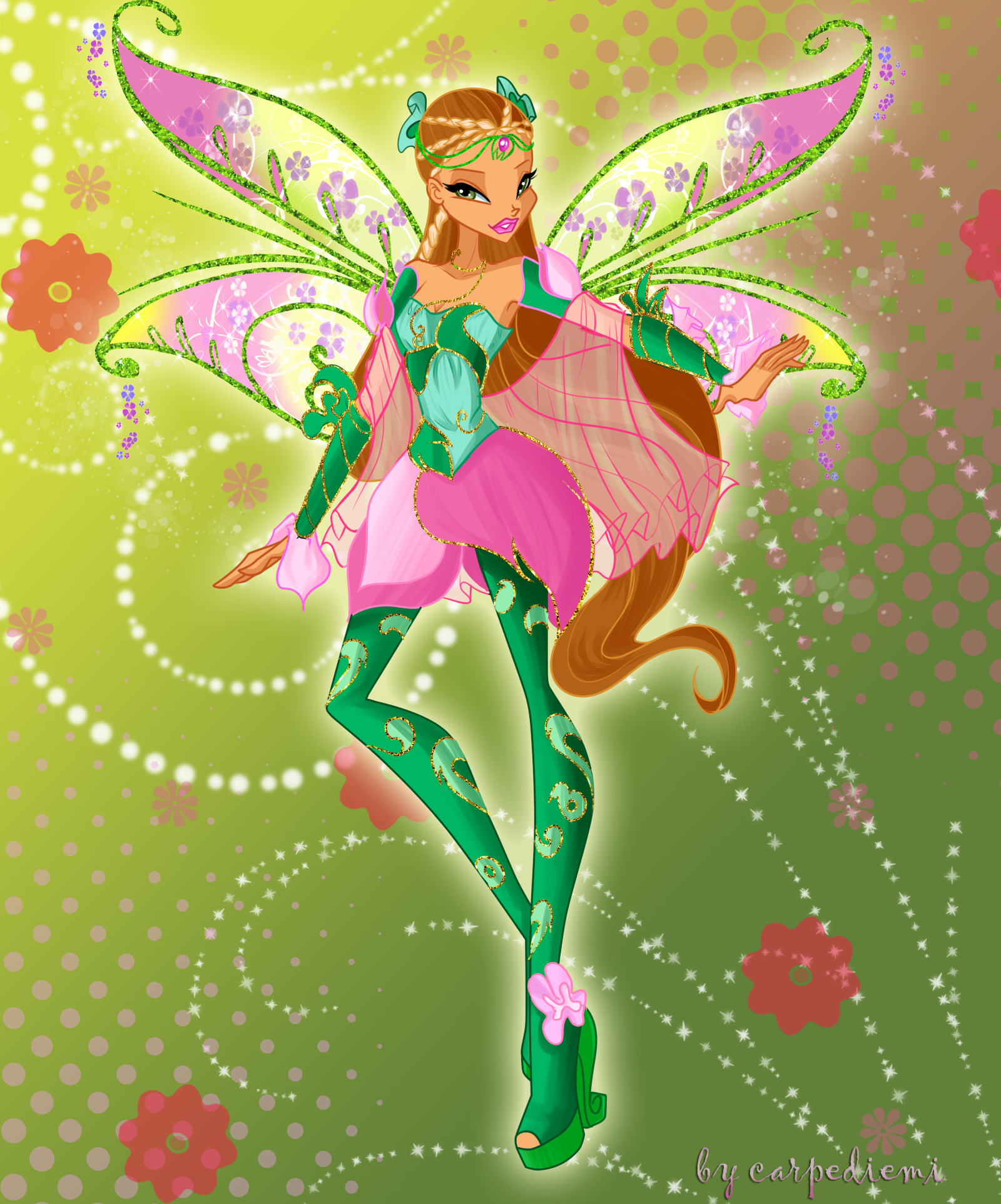winx club season 6 transformation Roxy,bloom, Flora and musa mermaidix
