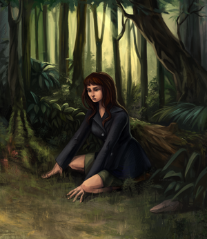 Among the forest