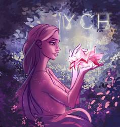 YCH OPEN | Healing flower by carpediemi