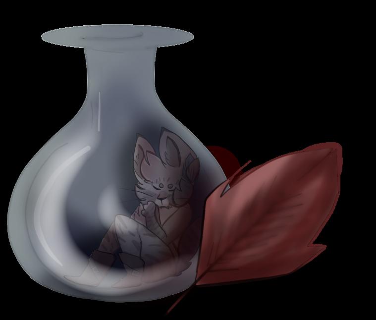 Corale in a bottle by SiameseArtSketch