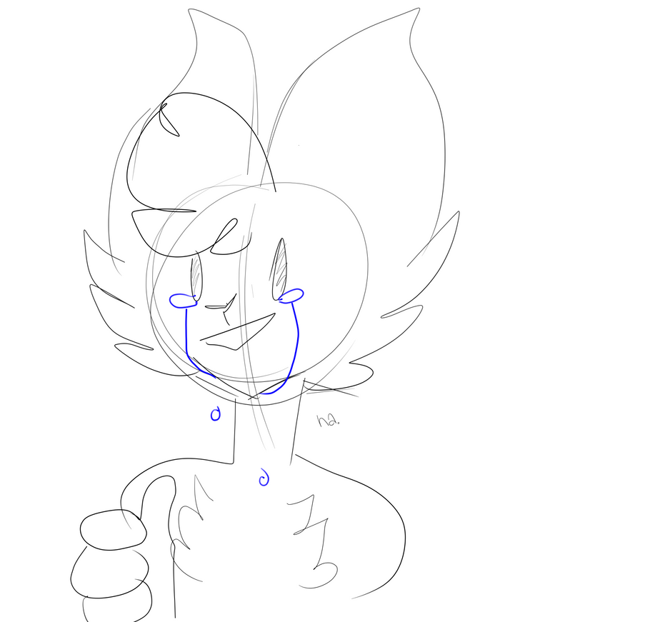 when youre mentally drained from your show by SiameseArtSketch