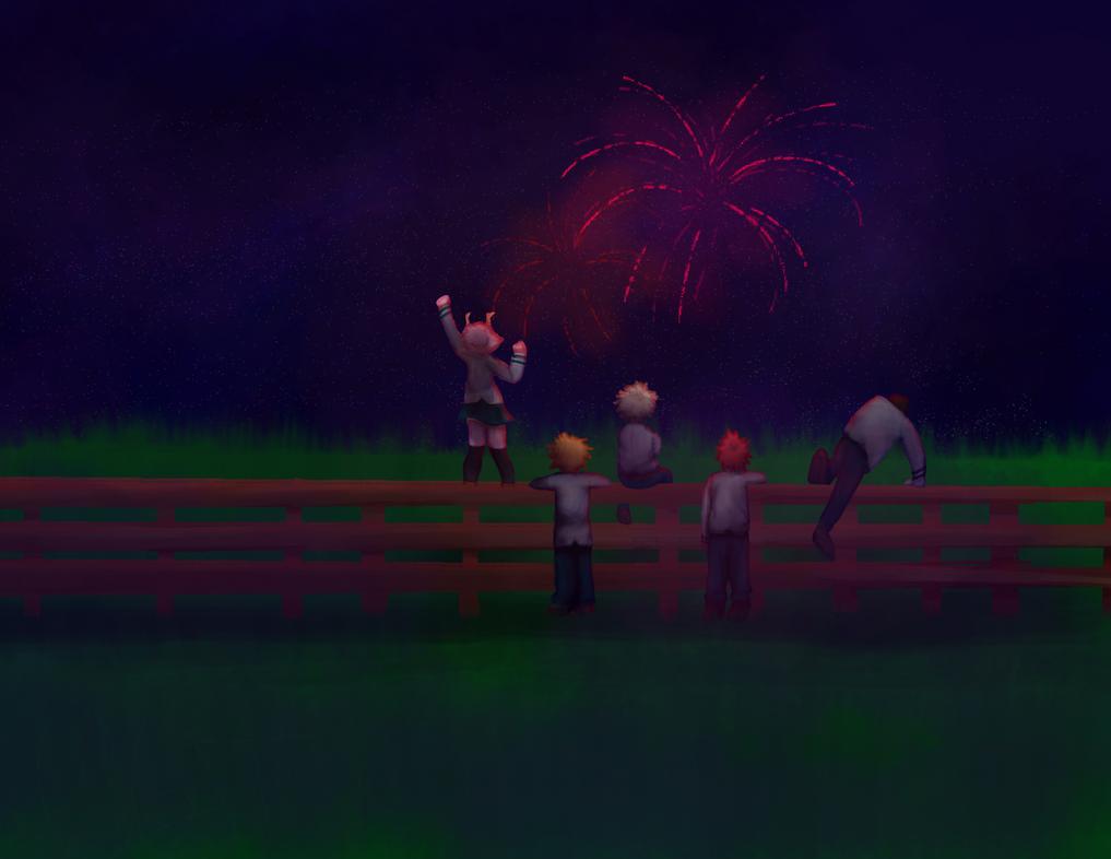 Happy4th! by SiameseArtSketch