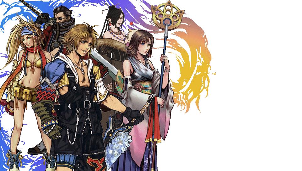 Final Fantasy 10 Transparent Wallpaper [Ps Vita] By