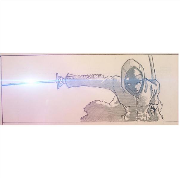 Xaiden Walterz, Flashing Blade by SIKComicz