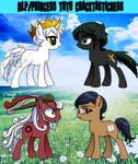 Princess Tutu My Little Ponies