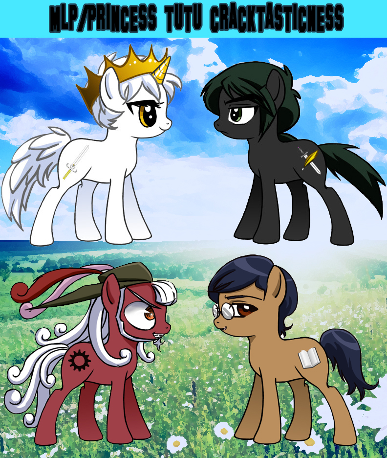 Princess Tutu My Little Ponies by meiharu on DeviantArt