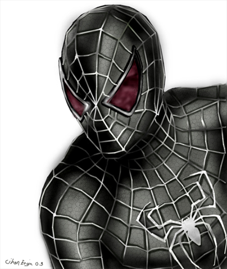 Venom Spiderman Drawing spiderman venom...