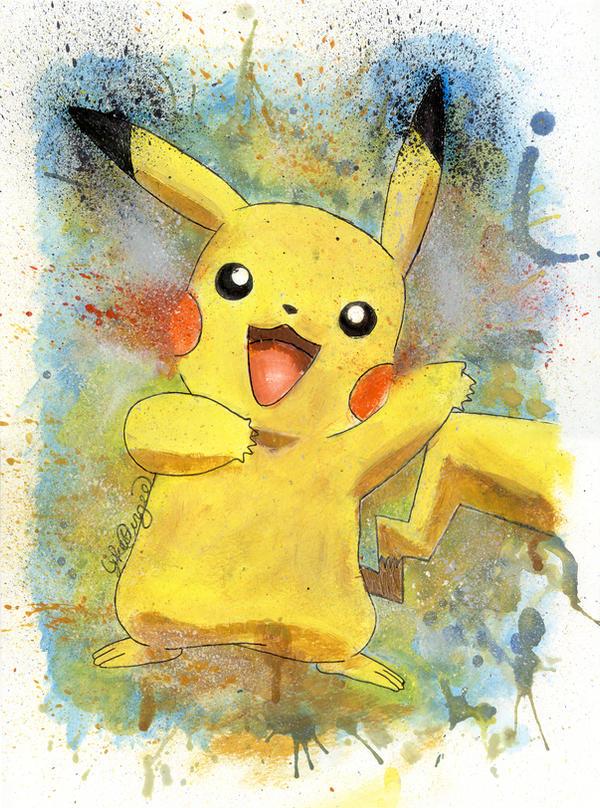 Pikachu by LukeFielding