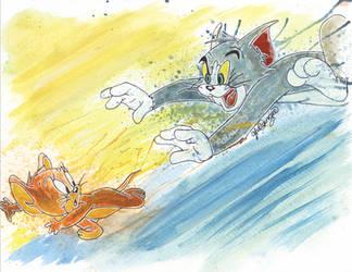 Tom and Jerry Characters on AllKidsCartoonTVLove - DeviantArt