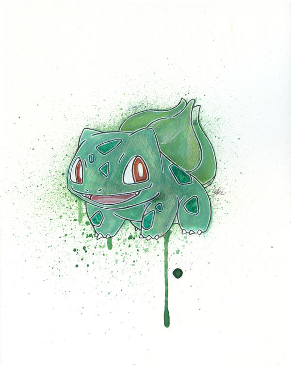 Bulbasaur by LukeFielding