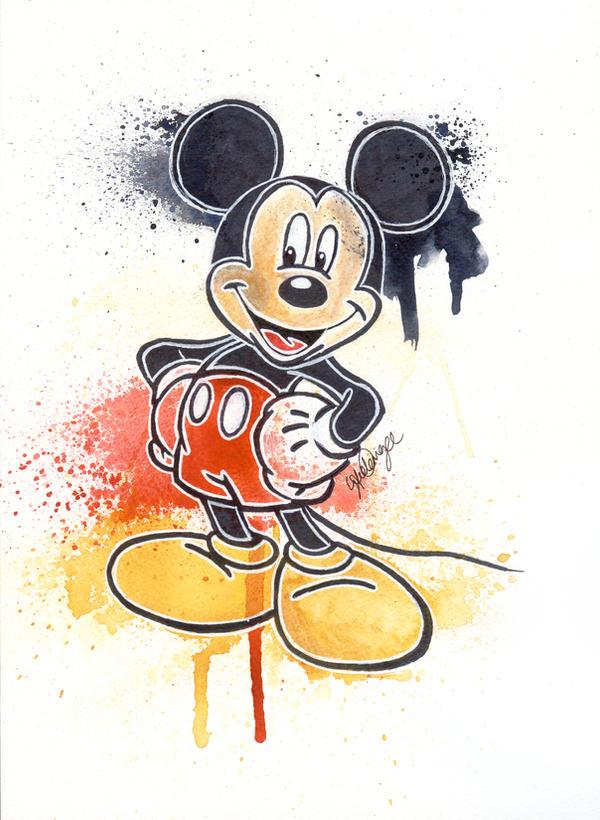 Mickey Mouse by LukeFielding