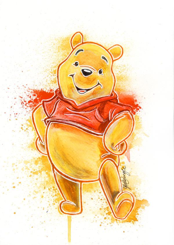 Winnie the Pooh by LukeFielding