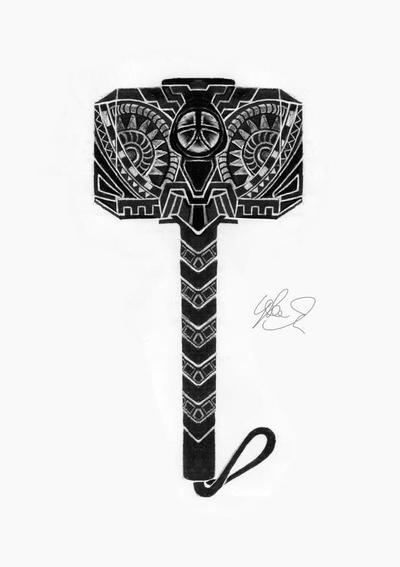 Thor's Hammer by LukeFielding