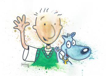 Doug and Porkchop by LukeFielding