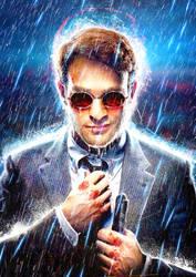 Matt Murdock (Daredevil) by LukeFielding