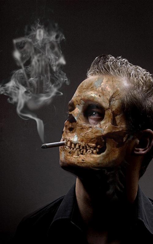 smoke death by sercend