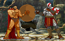 SPARTA vs GOD OF WAR by marcoapires