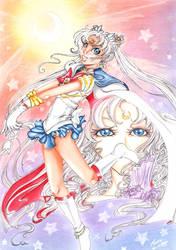 Sailor Moon Oldschool by Terrachan