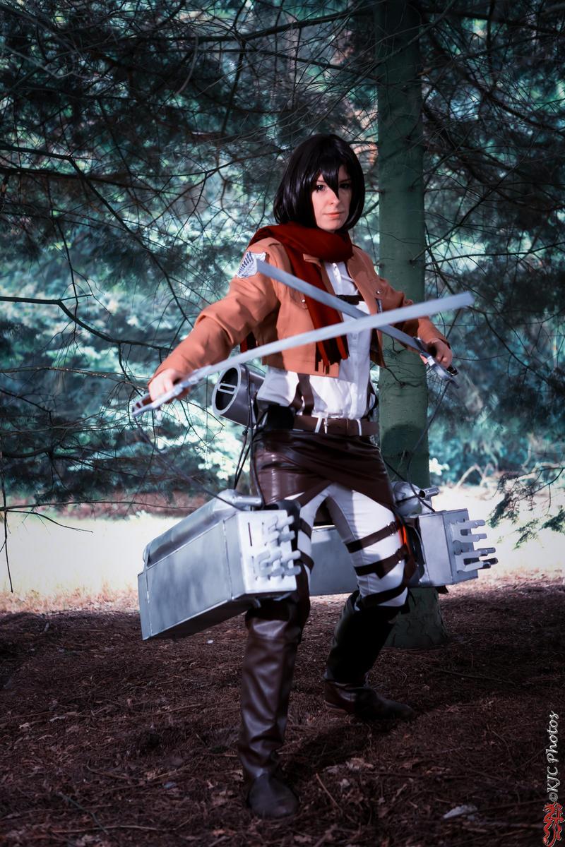 AoT: Mikasa by Kinlyu