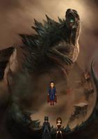Trinity vs. Godzilla