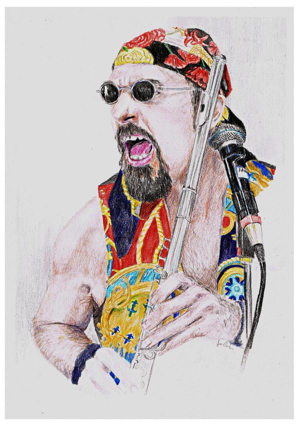 Ian Anderson - Jethro Tull by Arania-chan