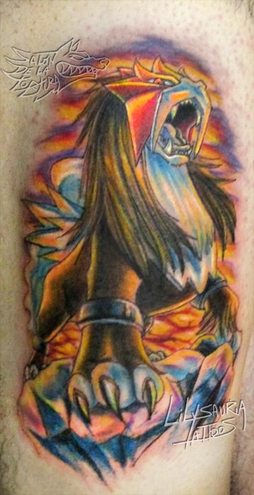 Entei-Tattoo by Secret-Rendez-vous