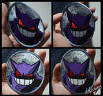 Gengar embroidered patch by Secret-Rendez-vous