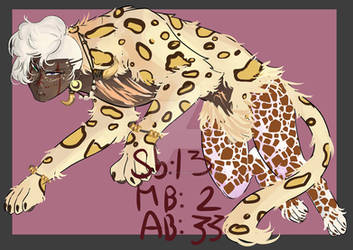(SOLD)AUCTION Desert Male sphinx 4 by LisaBlack89-Adopt