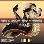 (SOLD) SCALED NAGA - AUCTION by LisaBlack89-Adopt