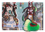 (CLOSED, TY ) FREE Adopt RAFFLE (end:25.04.2020) by LisaBlack89-Adopt