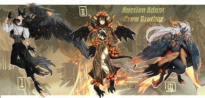 (CLOSED)AUCTION CROW BROTHER (0/3)
