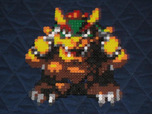 Bowser ::SMRPG:: Bead Sprite by vaporsnake7