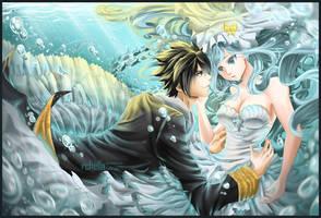 Underwater Wedding by rchella