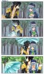 Kissing In the Rain by rchella