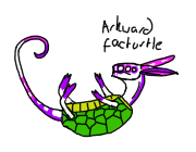 Pink and Purple facturtle by Fourdd