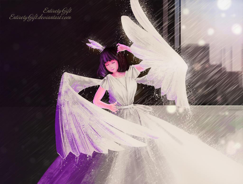 Dance the rain by EntiretyGift