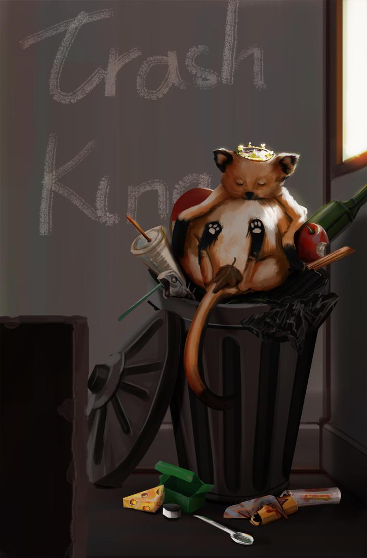 Trash King by EntiretyGift