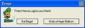 Mama Luigi Error by Sapphirechao