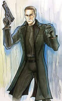 Albert Wesker by SargeCrys