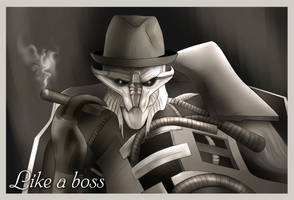 Like a boss by SargeCrys