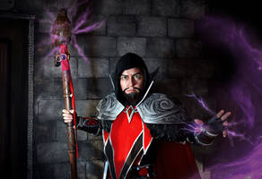 Medivh cosplay-1