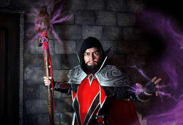 Medivh cosplay-1 by SargeCrys