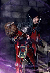 Medivh cosplay-2