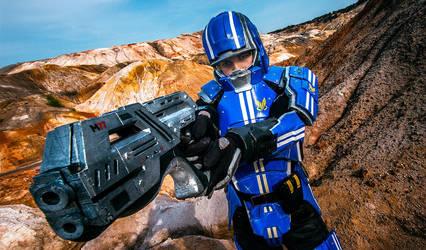 Kaidan cosplay by SargeCrys