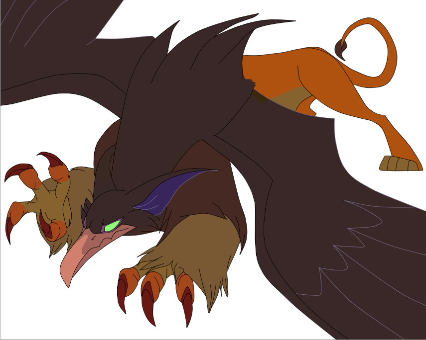 Griffin_WIP by Husky-F...