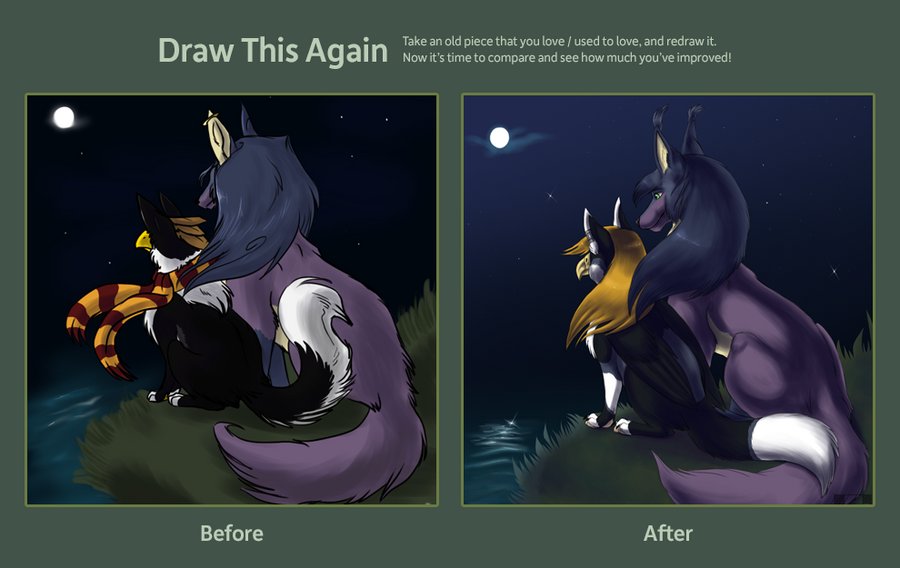 Draw this again_contest by Husky-Foxgryph