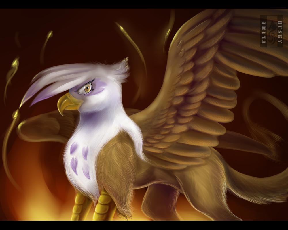 Fiery by Husky-Foxgryph
