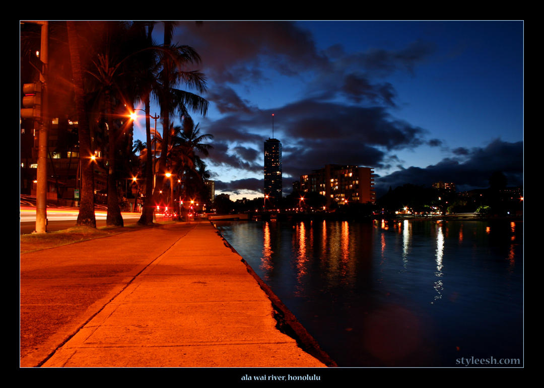 ala wai river, honolulu by styleesh