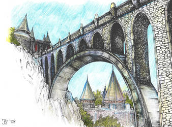 The Bridge of Skingrad v2 by Anastasia-N