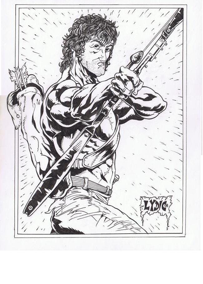 Rambo By Stevelydic On Deviantart